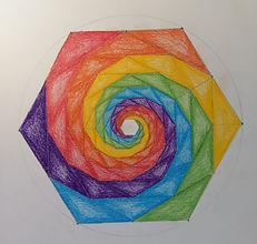 regenboog mandala