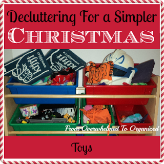 Christmas De-cluttering, easier than you think!