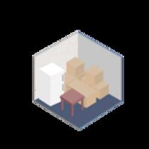 10 x 10 self storage unit