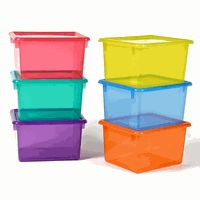 When to Use Plastic Totes for Storage