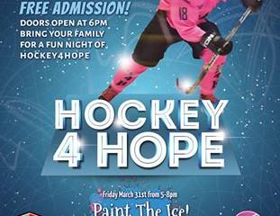 Hockey 4 Hope 2017 is scheduled