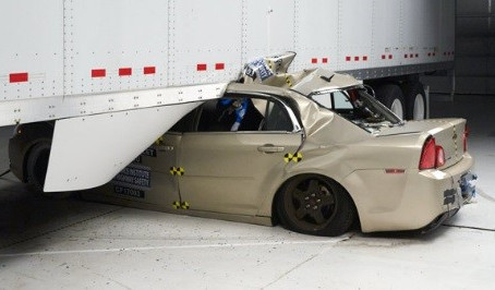 Tractor trailer crash tests reveal about side underride guards by Laing Truck & Trailer of Bingh