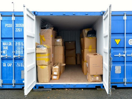 Organizing your storage unit for easy access!