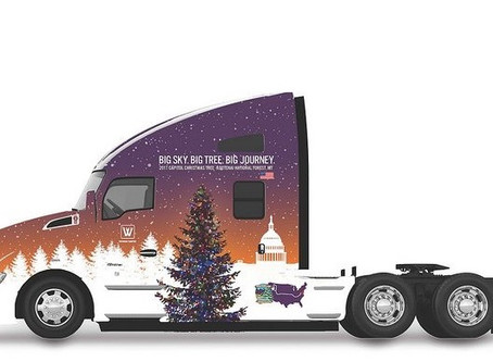 Whitewood Transport Selected to Haul Capitol Christmas Tree November 02, 2017
