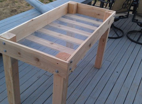 How to build a raised bed planter!