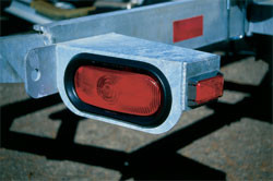 7 Tips for Fixing Common Trailer Light issues by Laing Industries of Binghamton, NY.