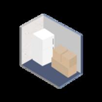 5 x 10 self storage unit