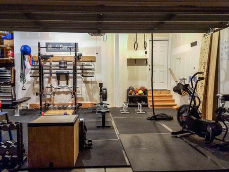 6 Benefits to having a home gym by Laing Self Storage!