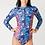 Thumbnail: Swimsuit Manches longues zippée