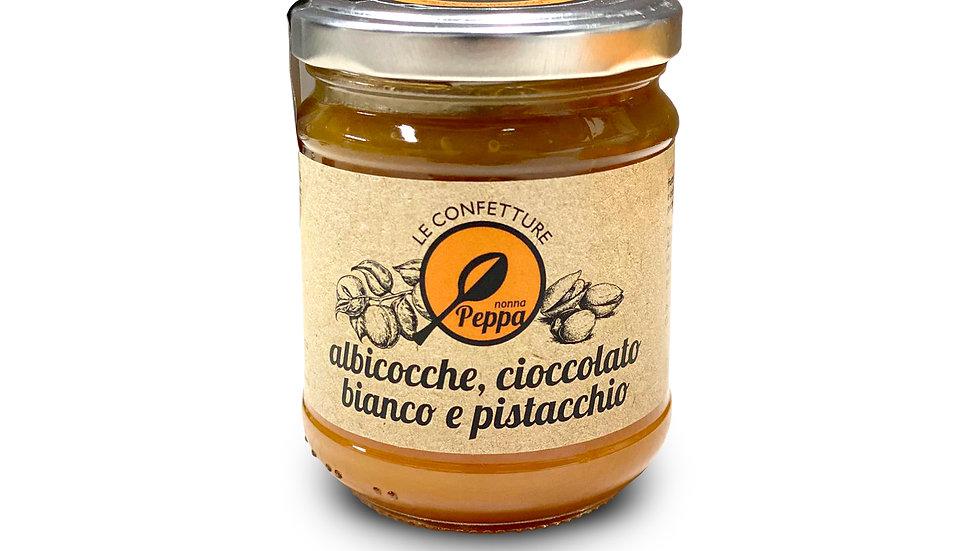 Confettura di Albicocche, Cioccolato Bianco e Pistacchio Nonna Peppa