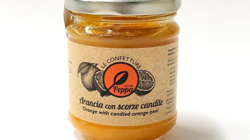 Confettura di Arancia con scorze candite Nonna Peppa