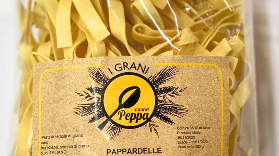 """Pappardelle """"I Grani"""" della tradizione Nonna Peppa"""