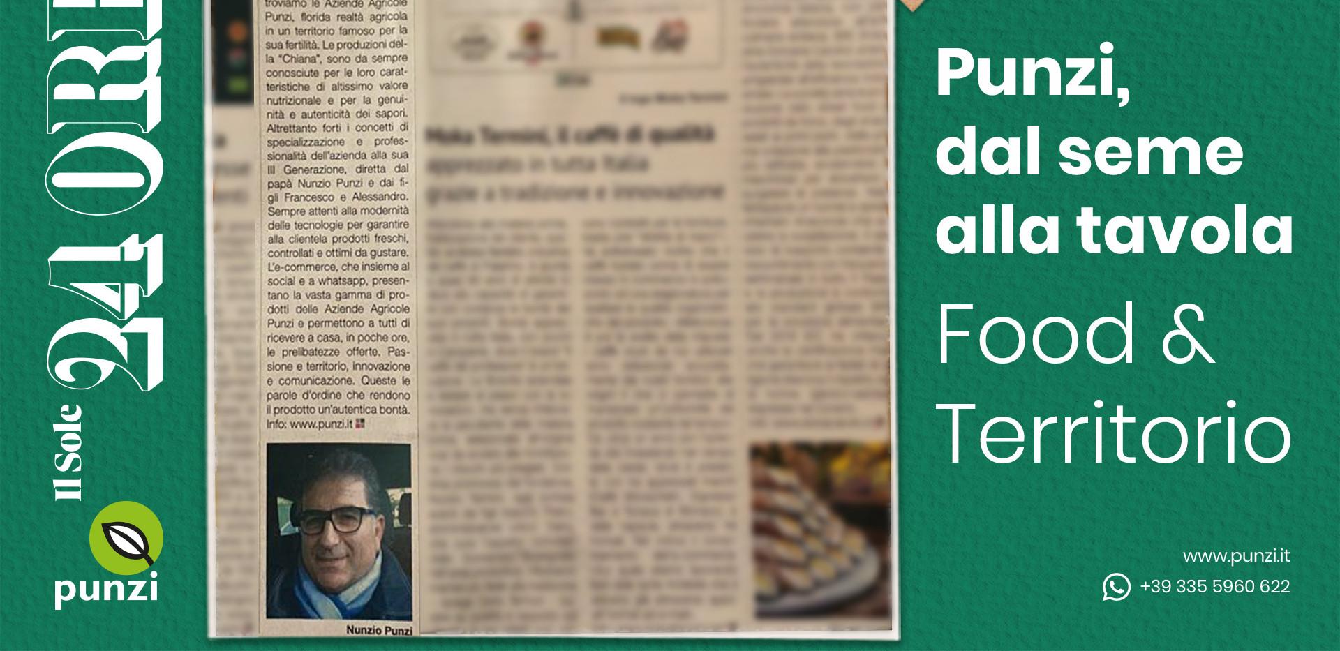 PRESSE: Il Sole 24 Ore (Wirtschaftsinformationszeitung) spricht über uns und unseren E-Shop