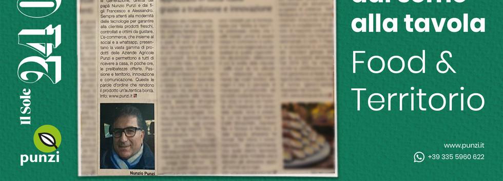 PRESS: Il Sole 24 Ore talks about us and our e-shop