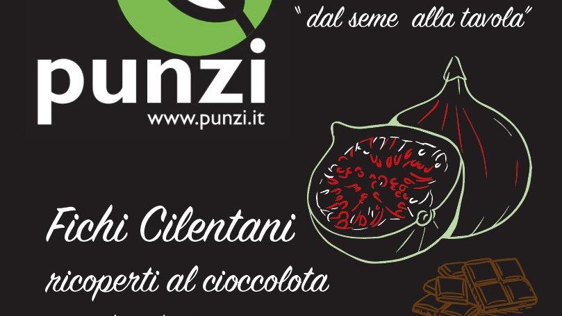 Fichi Cilentani ricoperti al cioccolato Fondente