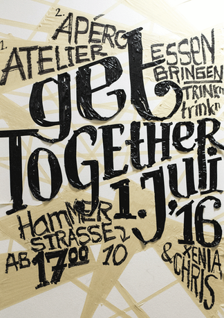 Plakat – Get Together
