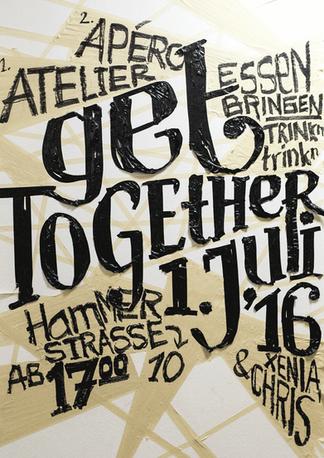 Plakat – Get Together