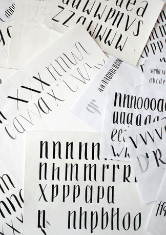 Typedesign – Xenografia