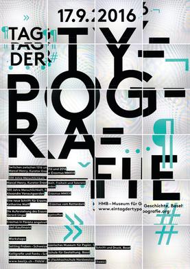 Plakat – Tag der Typografie