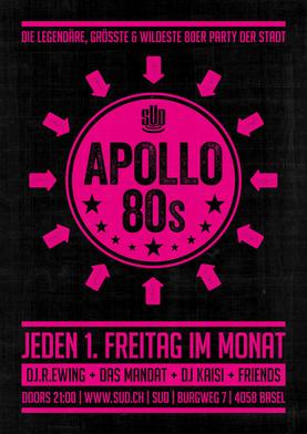 Plakat – SUD Apollo 80s
