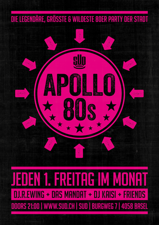 Plakat – SUD Apollo 80s