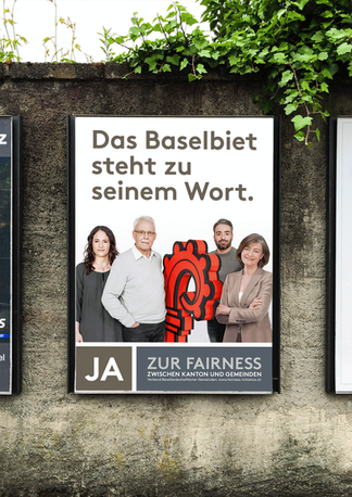 Plakat – Fairness Initiative