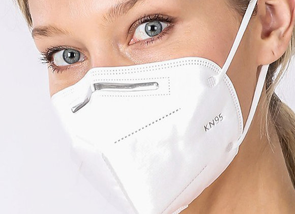 KN95 FACE MASK - SINGLES - INDIVIDUALLY WRAPPED - WONE