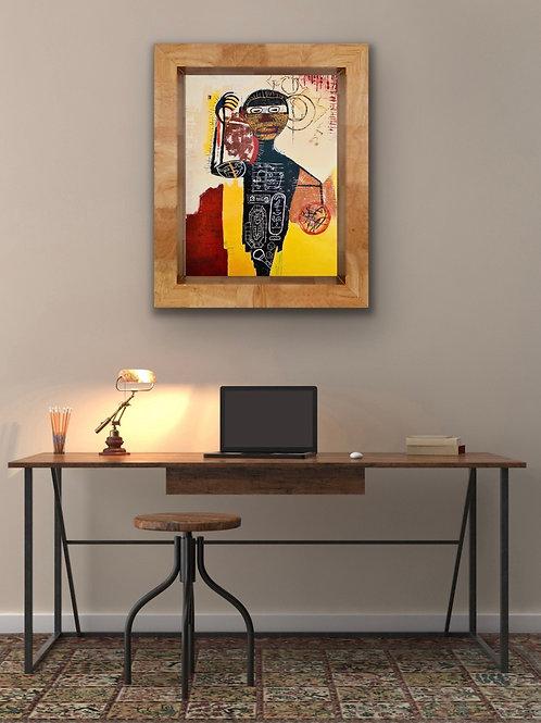 Ode to Basquiat (PRINT)