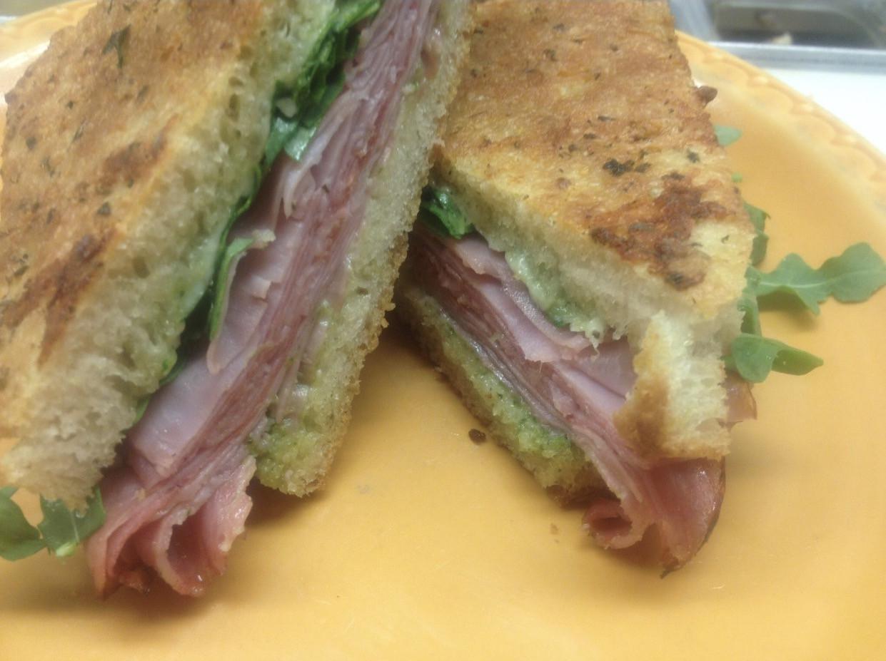Hot fresh sandwiches