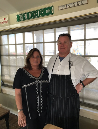 Owners Rob and Kelly Noll