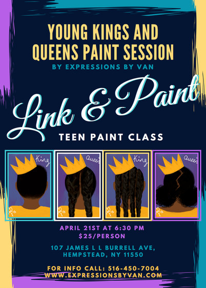 Teen Paint Session