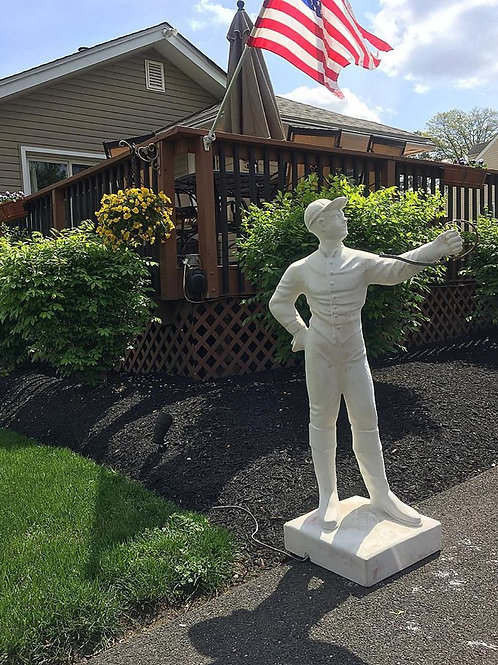 #041 Paint-Your-Own Lawn Jockey