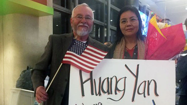 黃燕跳機入台終獲美政治庇護