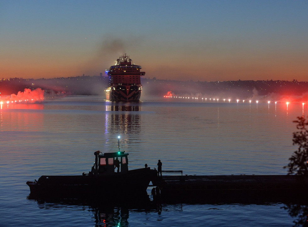 P&O Launch of ship  .jpg