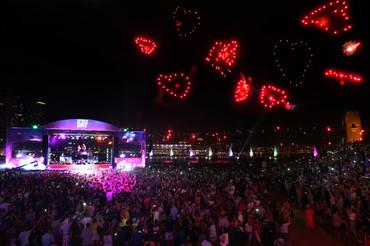 Heart Fireworks