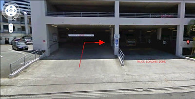 Photo of handicap parking entrance