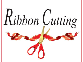 Ribbon Cutting, Dec 9th at Noon
