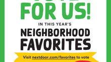 Vote for us as your Neighborhood Favorite