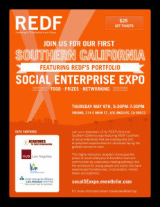 Attend REDF's May 9th Social Enterprise Expo