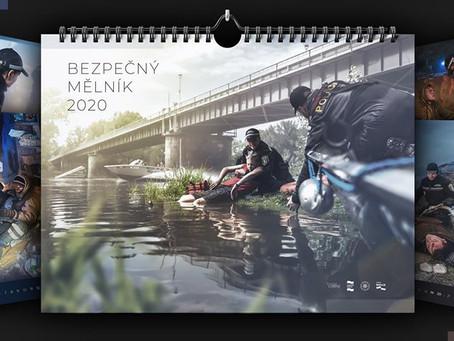 Dynamika, akce a nebezpečí – Kalendář mělnických policistů a strážníků