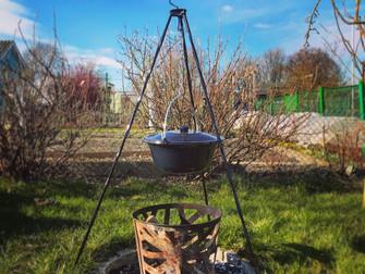 Ein Wintertag im Garten