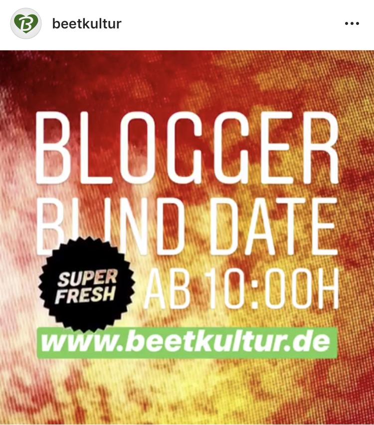März 18 Blogger Blind Date und diesmal geht es um Pfirsiche!