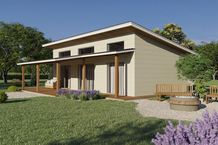 DesignStone Small House - The Bluestar