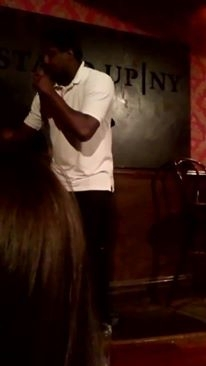 Omar Dyer at Stand Up NY