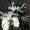 Thumbnail: Black and White feather fascinator