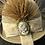 Thumbnail: Camel fur felt Bonnie with cameo pin