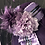 Thumbnail: Royal purple vintage felt bonnet
