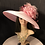 Thumbnail: Light pink straw Tiffany with fuchsia