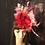 Thumbnail: Flamingo Fire feather fascinator