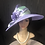 Thumbnail: Lavender Straw and Bonnet with mint green